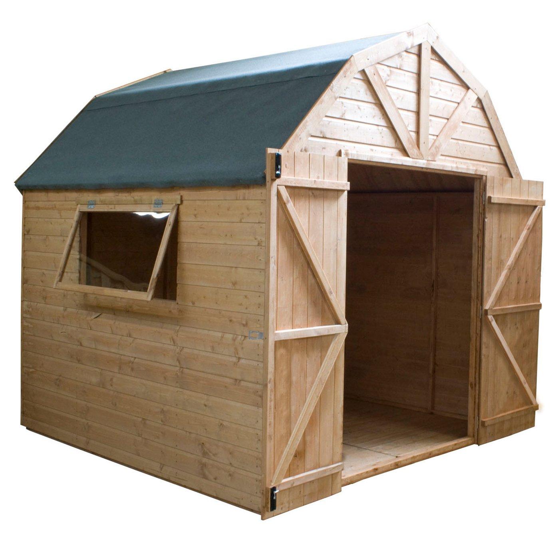 Mercia Wooden 8 x 8ft Premium Dutch Barn