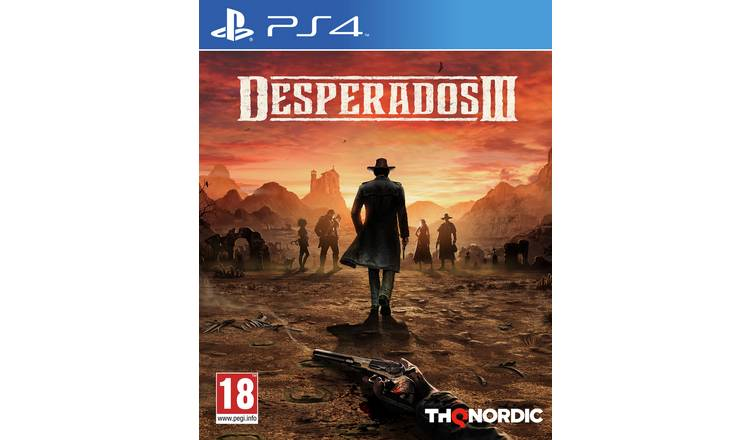 Buy Desperados 3 Ps4 Game Ps4 Games Argos