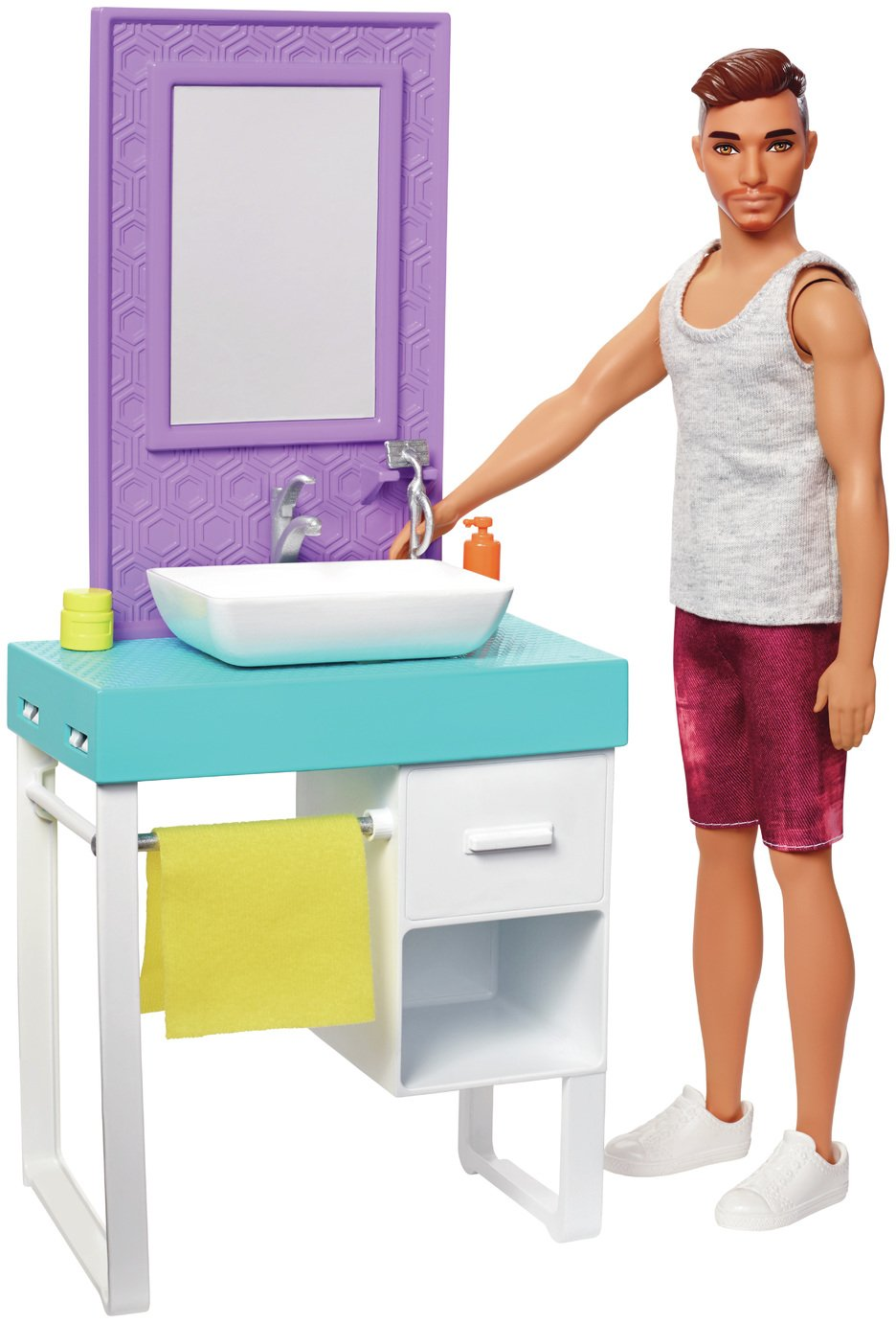 Barbie Shaving Fun Ken Doll