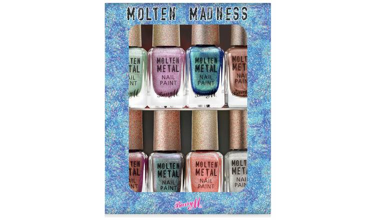 Barry M Cosmetics Molten Madness Nail Paint Set x 8