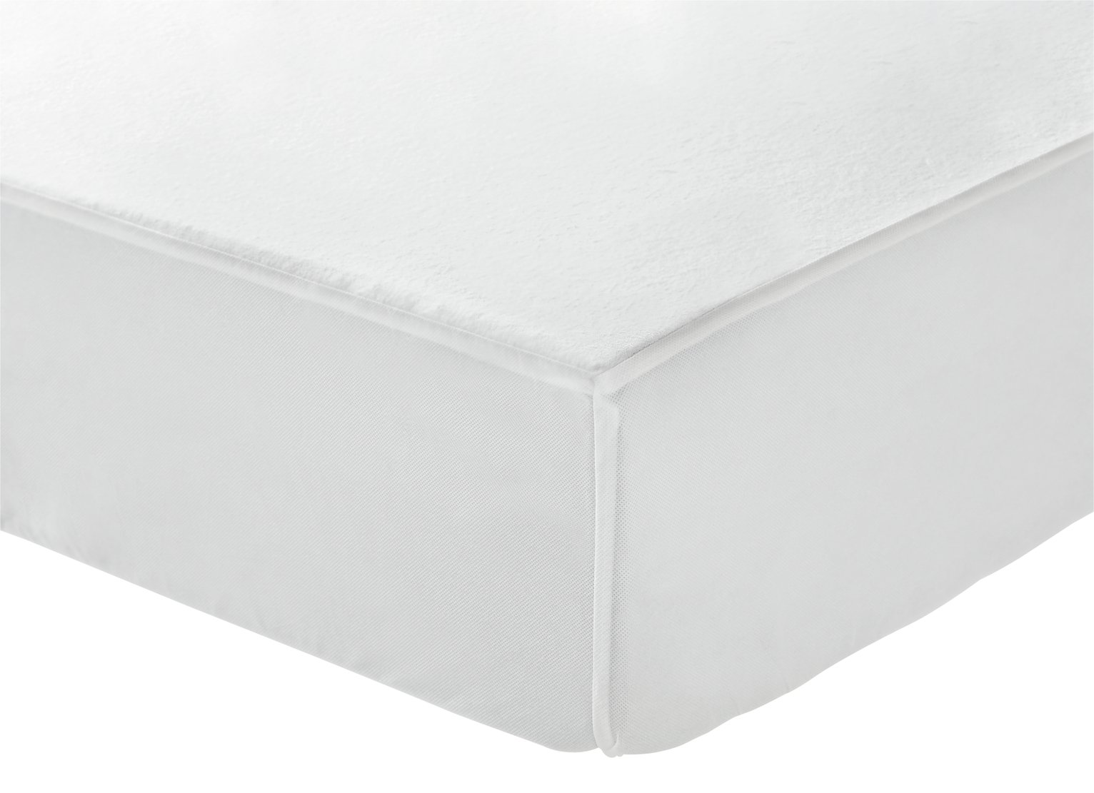 Argos Home Soft Cotton Waterproof Mattress Protector