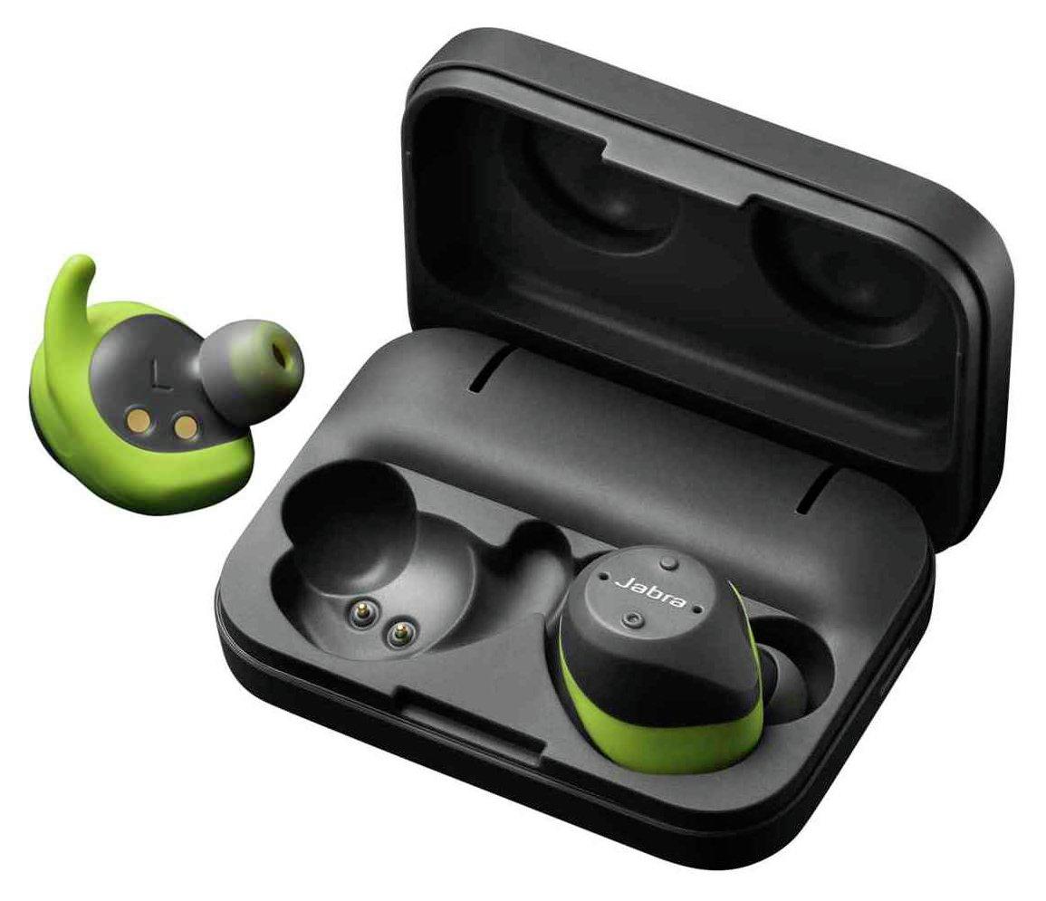 Jabra Elite Sport True Wireless Headphones - Grey / Lime