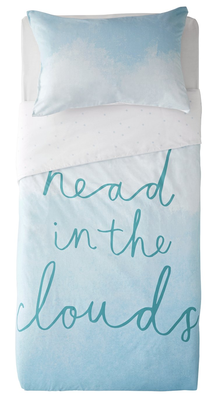 Argos Home Head in the Clouds Bedding Set - Single