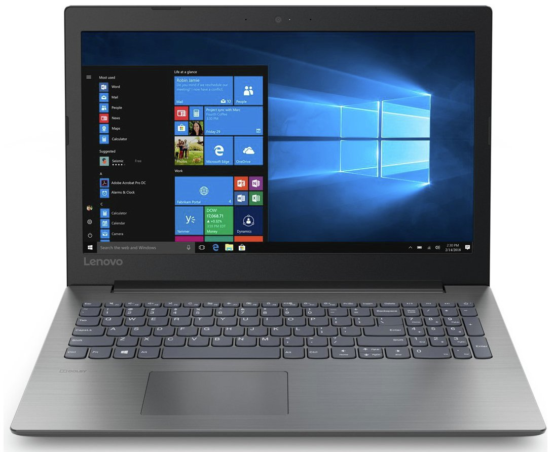 Lenovo IdeaPad 330 15.6 Inch Celeron 4GB 1TB Laptop- Black