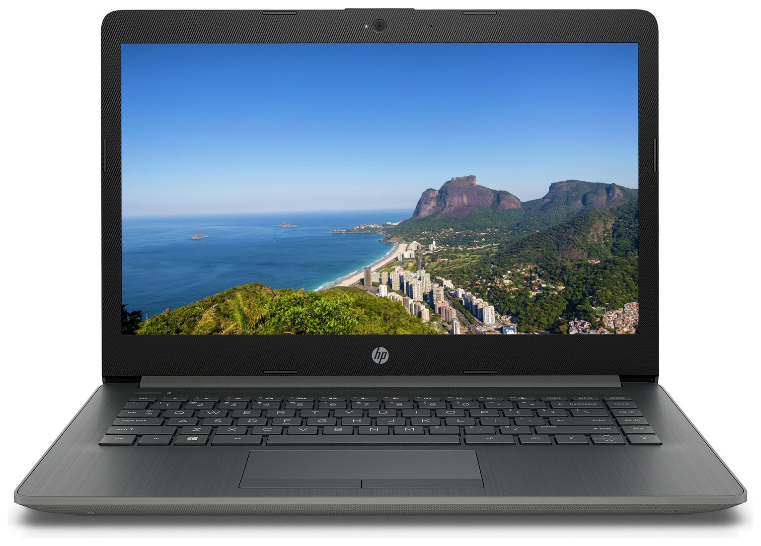 HP 14 Inch i3 4GB 128GB Full HD Laptop - Grey