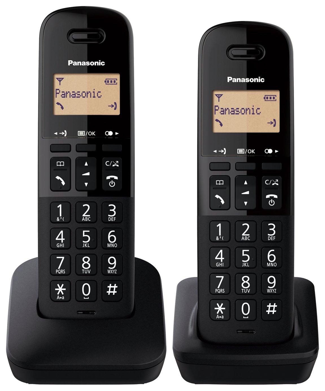 Panasonic KX-TGB612EB Cordless Telephone - Twin