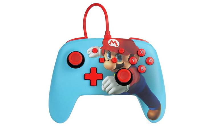 Enhanced Nintendo Switch Wired Controller - Mario Punch