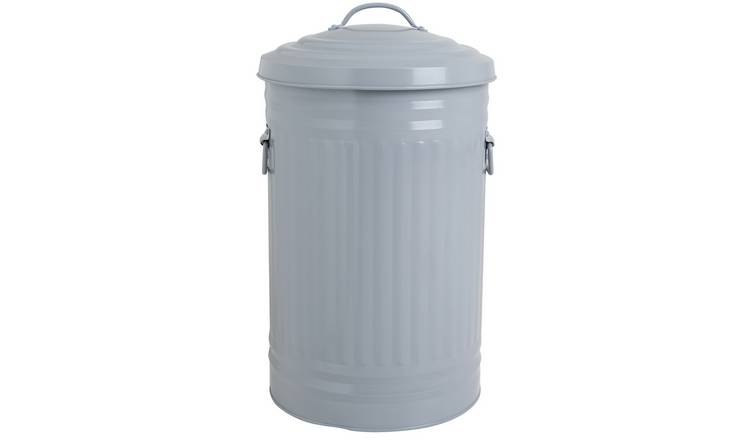 Habitat Alto 32 Litre Lift Top Bin - Grey