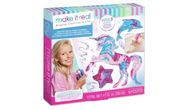 Make It Real Pouring Paint Set