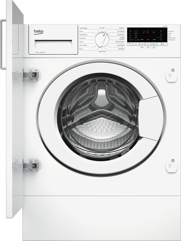 Beko WTIK72111 7KG Integrated Washing Machine - White