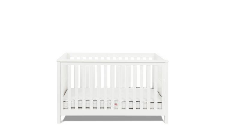 Silver Cross Nostalgia Cot Bed - White