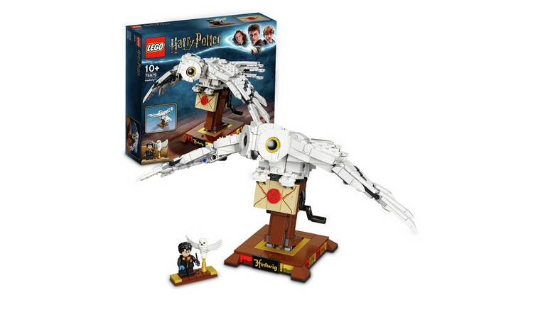 LEGO Harry Potter Hedwig Display Model Moving Wings - 75979