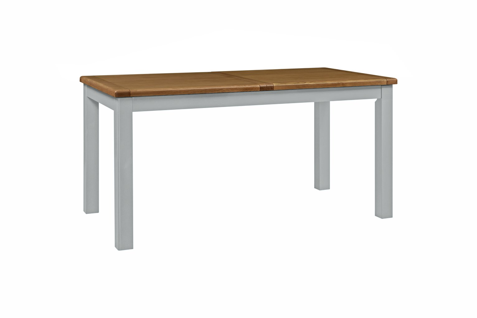 Habitat Kent Extending 6-8 Seater Dining Table - Light Grey