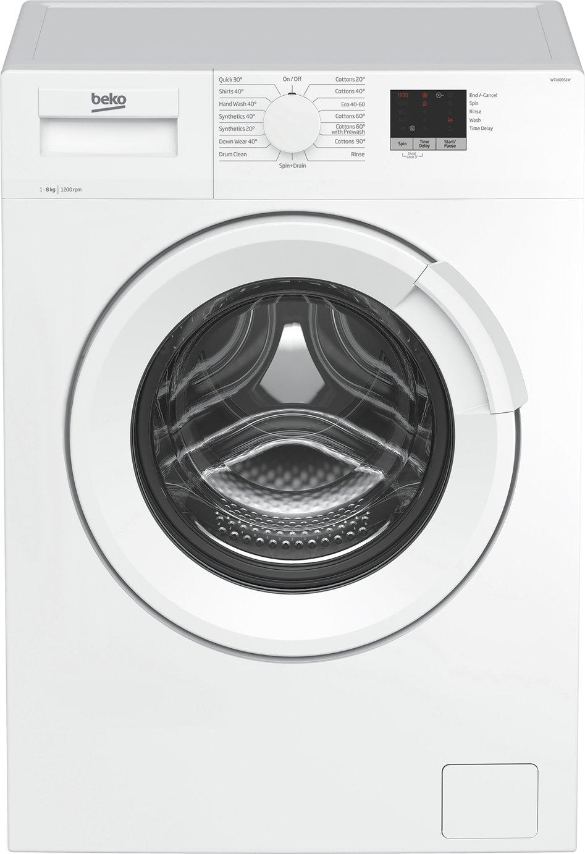 Beko WTL82051W 8KG 1200 Spin Washing Machine - White
