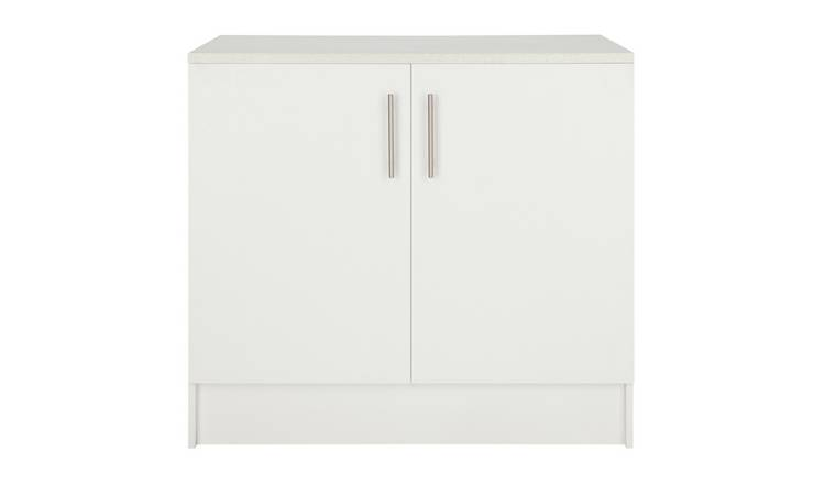 Argos Home Athina 1000mm Fitted Kitchen Base Unit - White