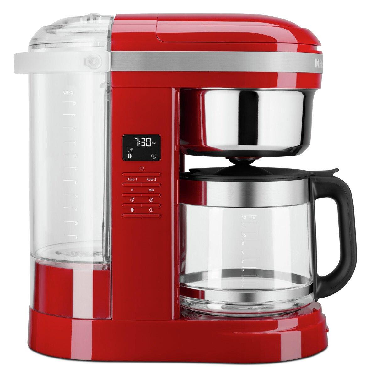 KitchenAid 5KCM1209BER Drip Filter Coffee Machine-Empire Red