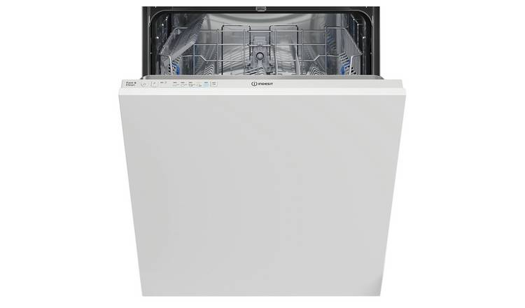 Indesit DIE2B19UK Full Size Integrated Dishwasher - White