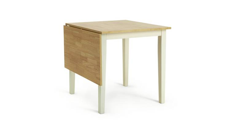 Habitat Chicago Extending 4 Seater Dining Table -Two Tone