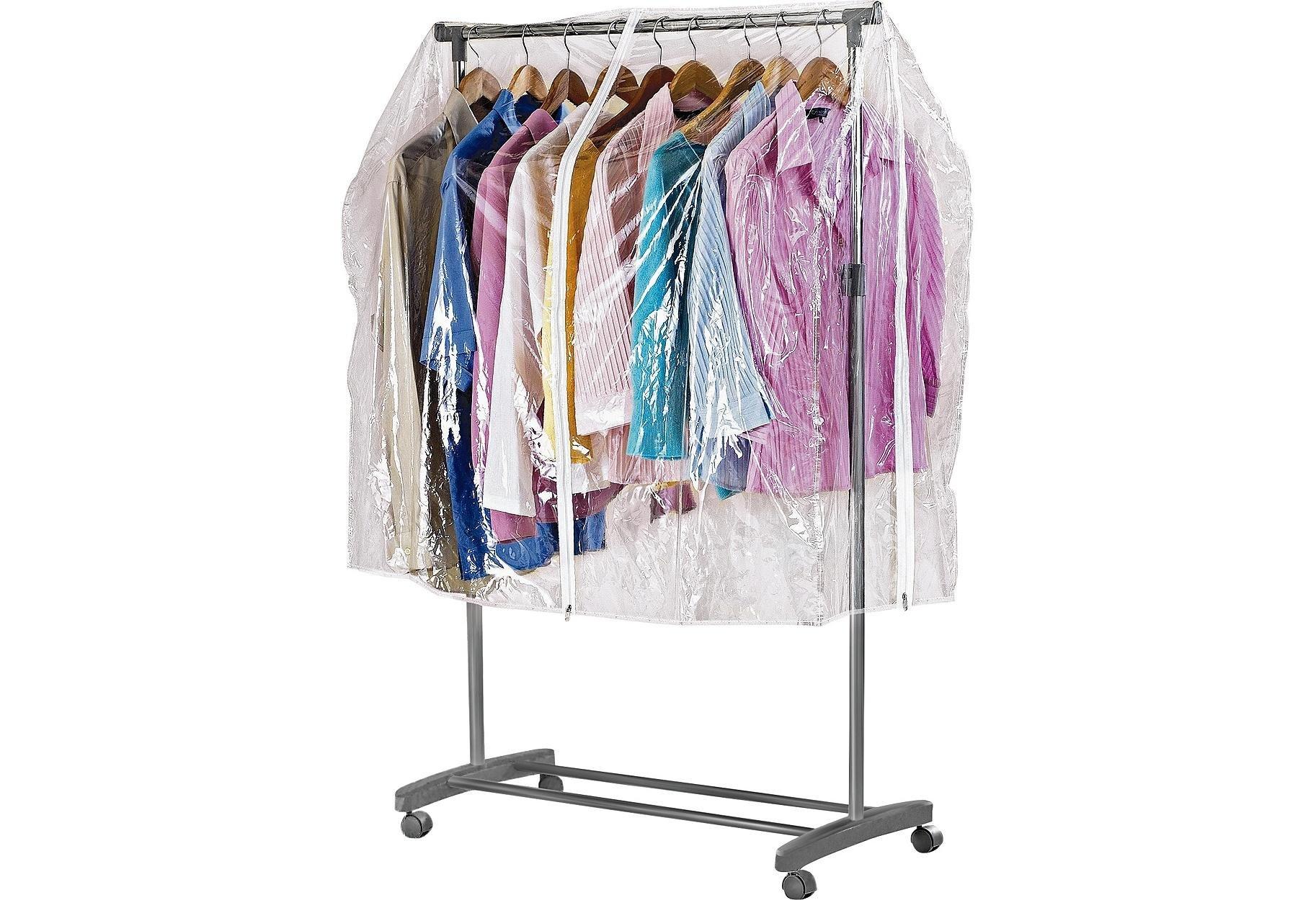 Argos Home Clothes Rail Cover - Clear