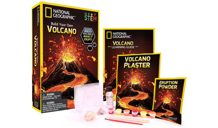 National Geographic Volcano Kit