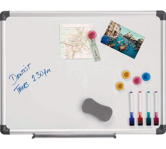 cathedral magnetic whiteboard 45 x 60cm - Magnetic White Board