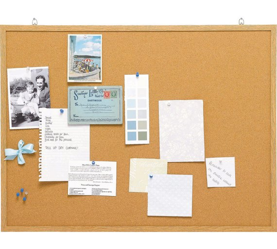 buy cathedral cork memo notice board at your online shop for office supplies home. Black Bedroom Furniture Sets. Home Design Ideas