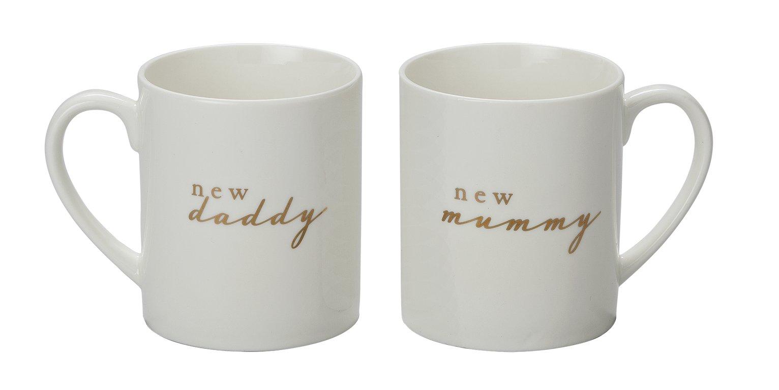 Bambino New Mummy & New Daddy Mug Set