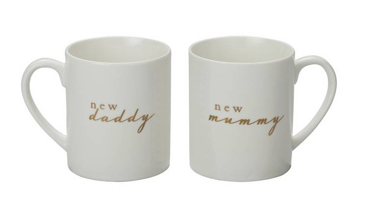 Bambino New Mummy & New Daddy Mug Set
