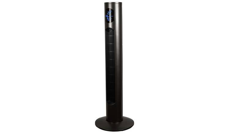 Challenge Cooling Graphite Tower Fan - 38 Inch