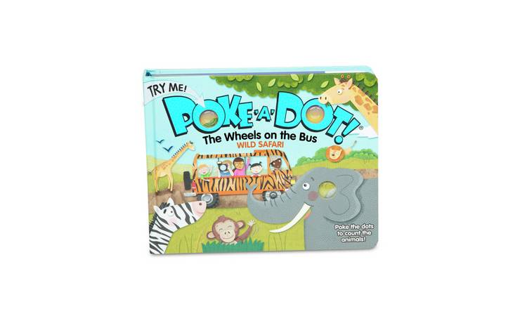 Melissa & Doug Poke-a-Dot - Wheels on the Bus