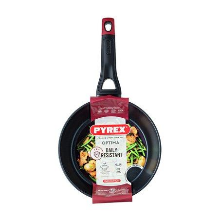 Pyrex Optima 24cm Non Stick Aluminium Deep Frying Pan