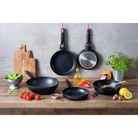 Pyrex Optima 26cm Non Stick Aluminium Deep Frying Pan