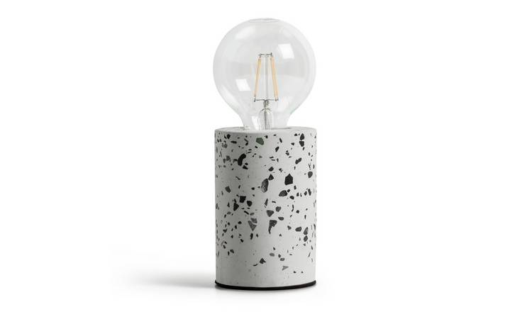 Argos Home Dash Exposed Bulb Lamp - Terrazzo