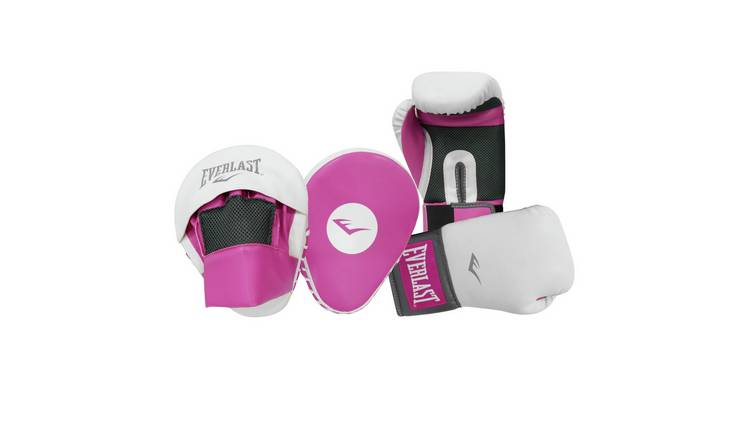 Everlast Boxercise Kit with Hook & Jab and 10oz Glove - Pink