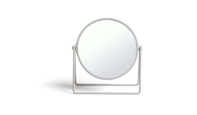 Habitat Metal Swivel Mirror - Matt Grey