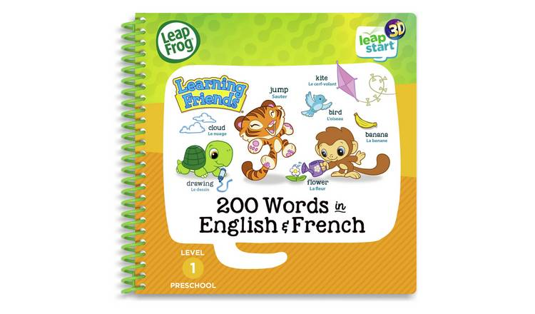 LeapFrog LeapStart Learning Friends 200 Words 3D
