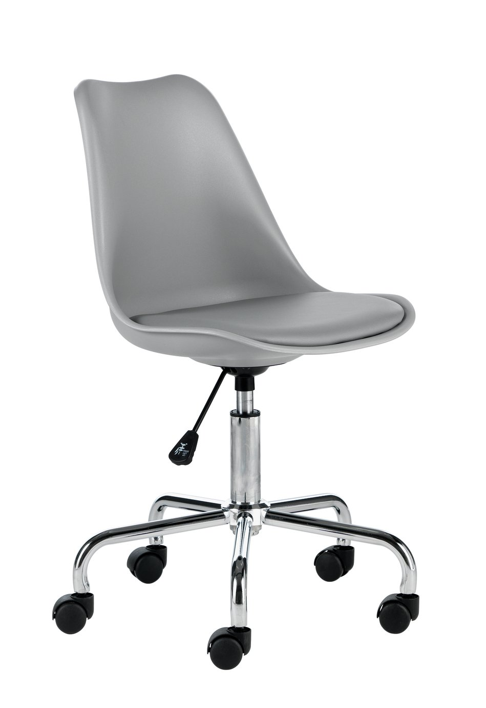 Habitat Ginnie Office Chair - Grey