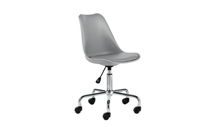Habitat Ginnie Office Chair - Grey