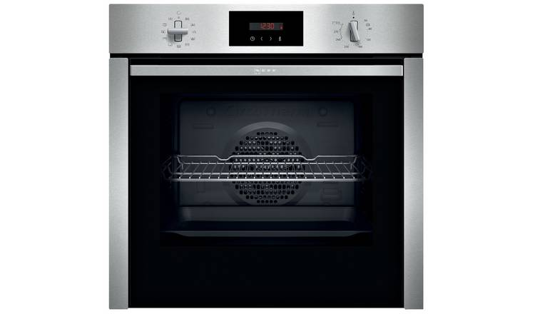 Neff B6CCG7AN0B SGL Built In Single Electric Oven - S Steel