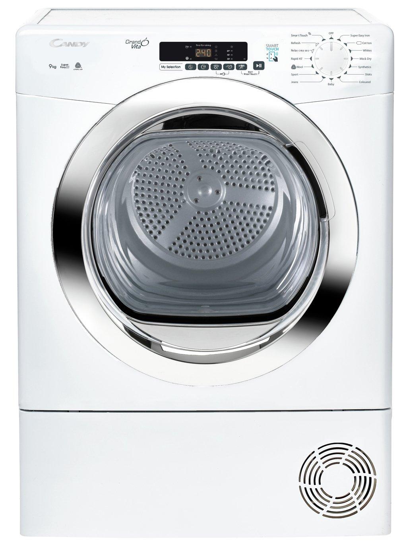 Candy Grand'O Vita GVSC9DCG 9Kg Condenser Tumble Dryer - White - B Rated
