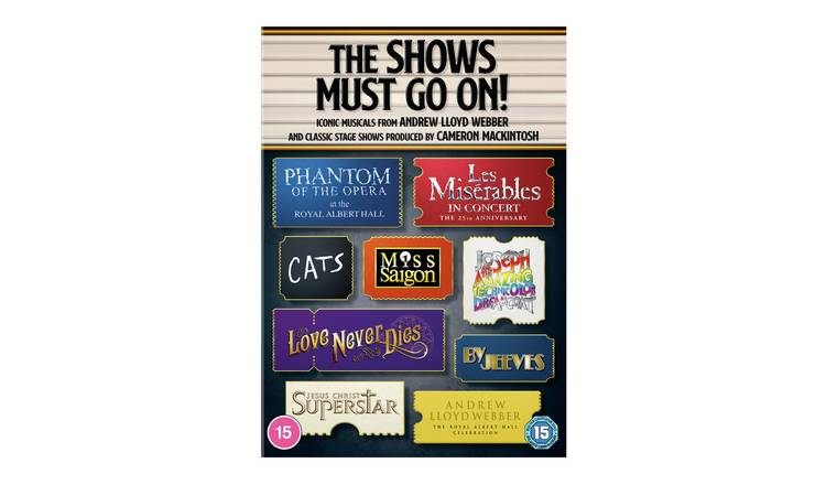 The Show Must Go On!Ultimate Musicals Collection DVD Box Set