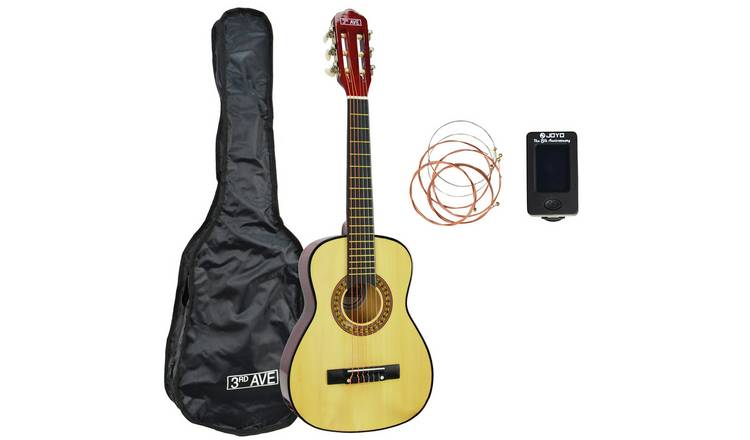 3rd Avenue 1/4 Acoustic Guitar Pack - Natural