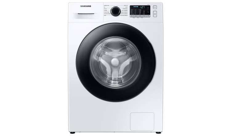 Samsung WW80TA046AE/EU 8KG Ecobubble Washing Machine - White