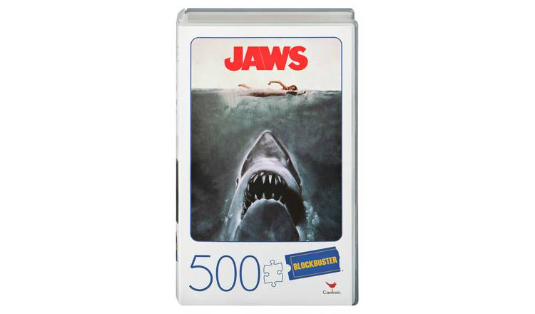JAWS Movie 500pc VHS Blockbuster Puzzle