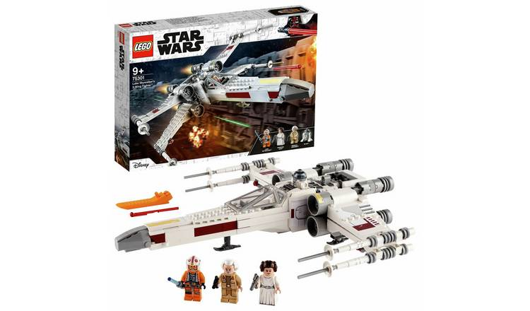 LEGO Star Wars Luke Skywalker's X-Wing Fighter Toy 75301