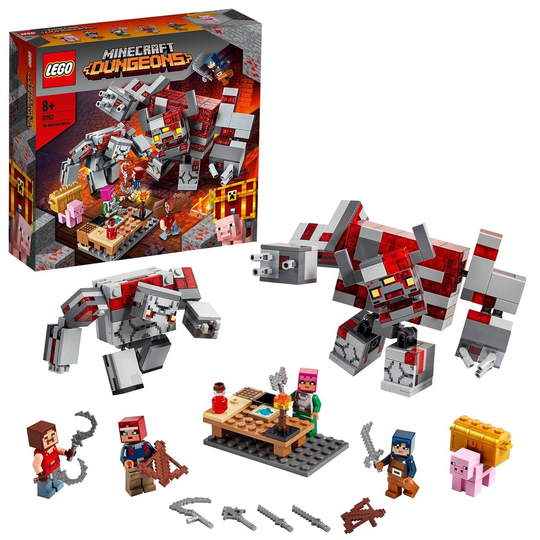 LEGO Minecraft The Redstone Battle Building Set- 21163