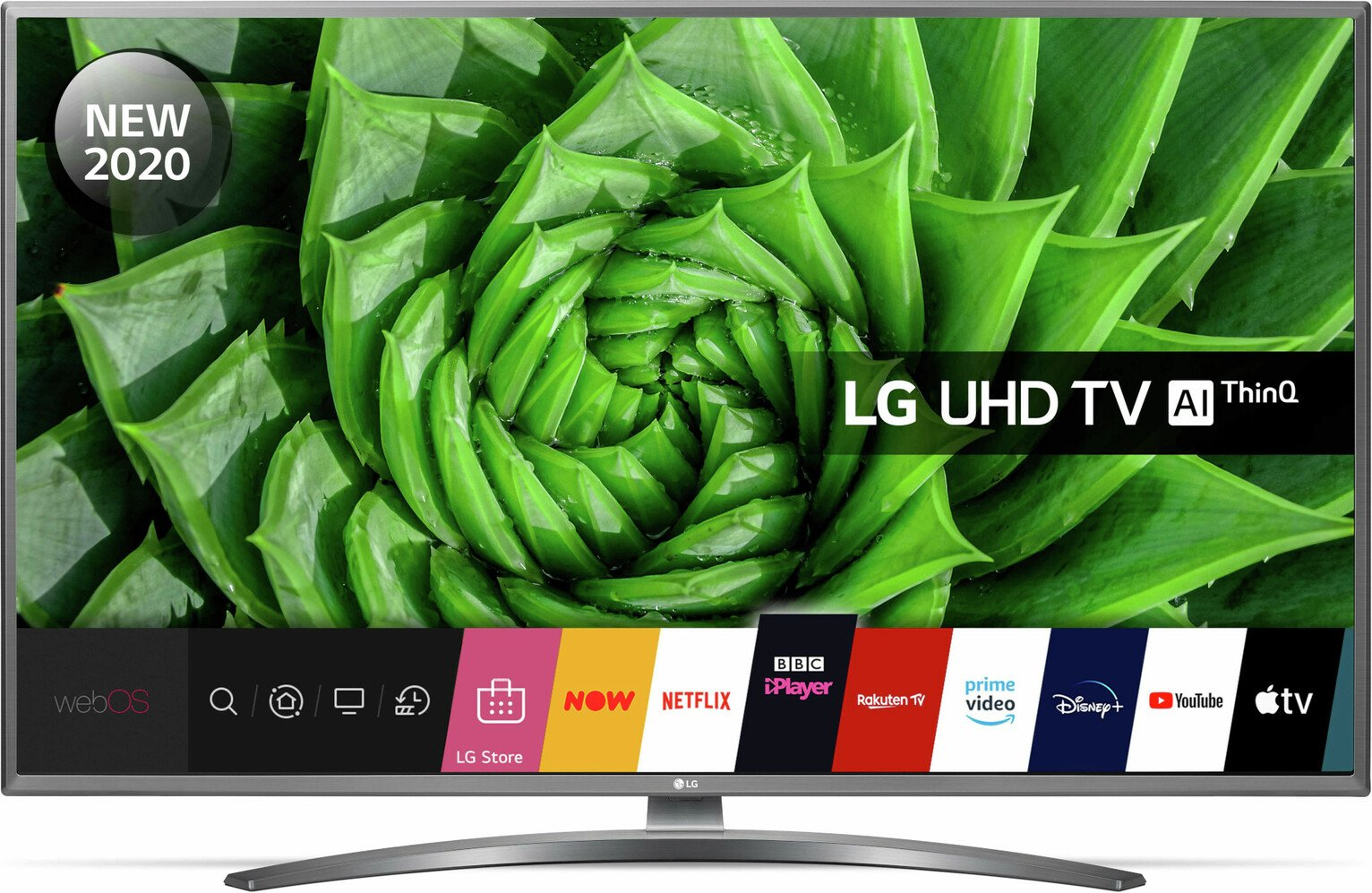 LG 43 Inch 43UN8100 Smart 4K UHD HDR LED Freeview TV