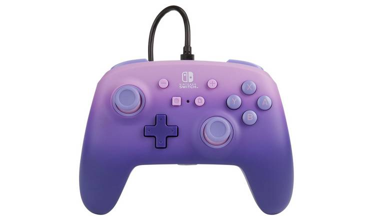 Enhanced Nintendo Switch Wired Controller - Fantasy Purple