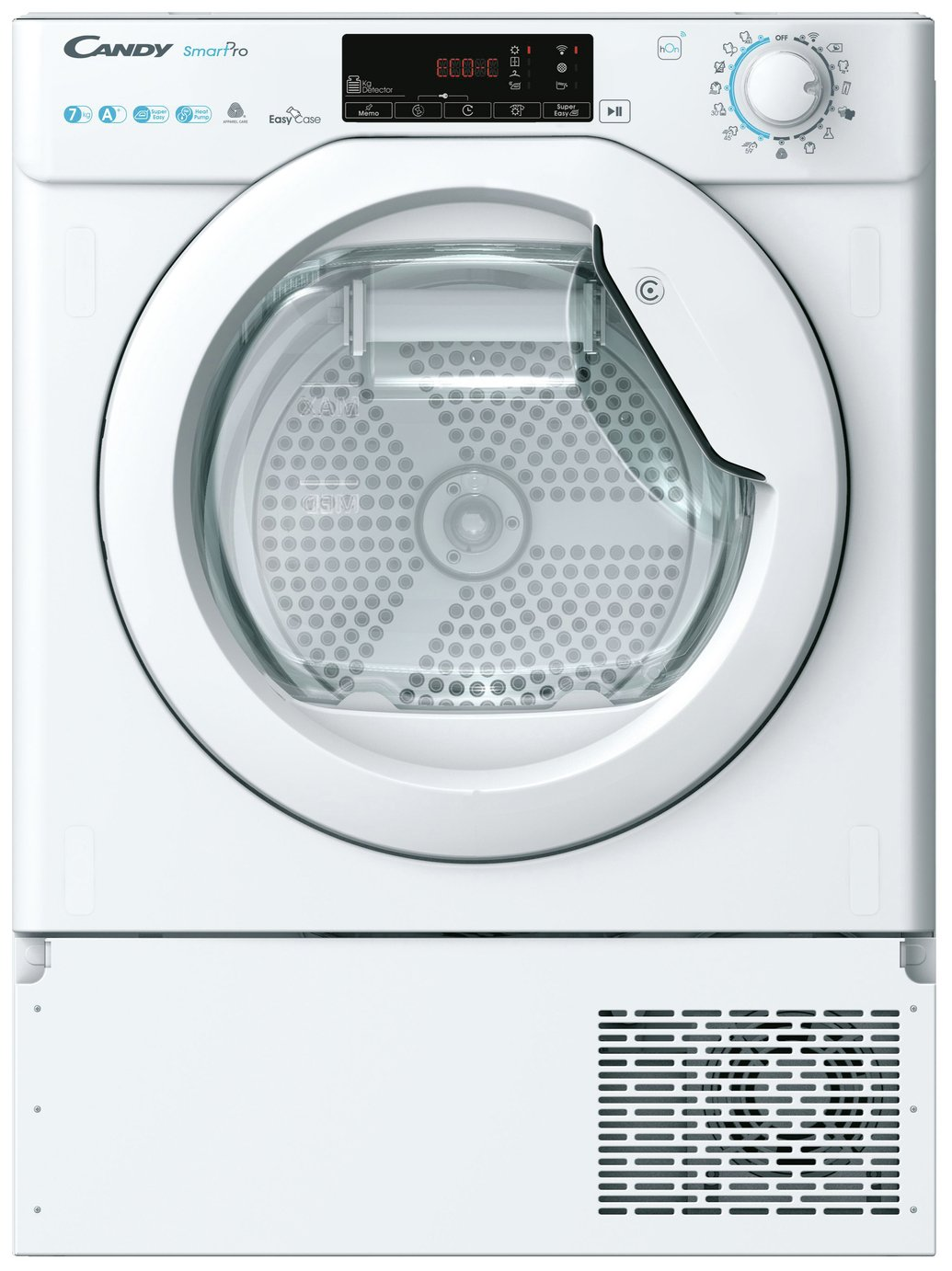 Candy BCTD H7A1TE Integrated Heat Pump Tumble Dryer - White