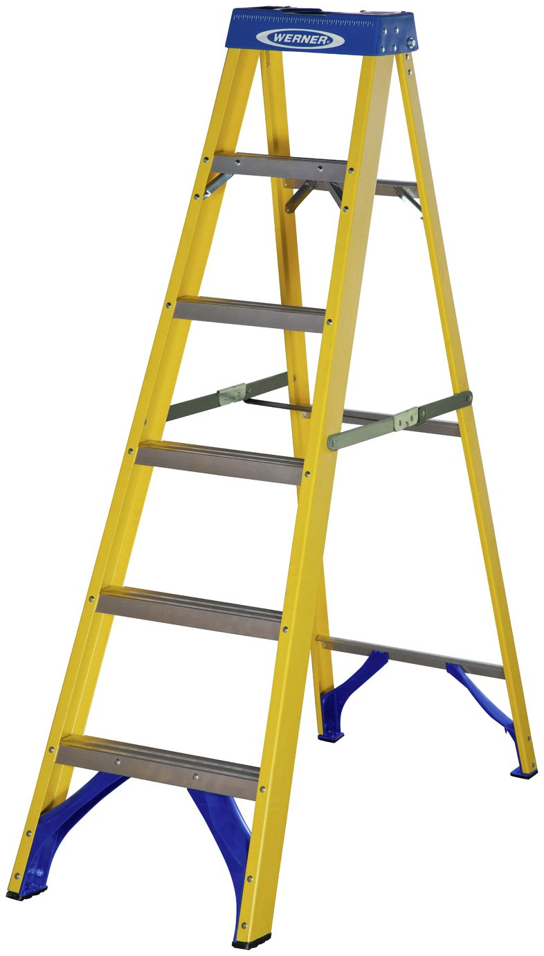 Werner Fibreglass Step Ladder